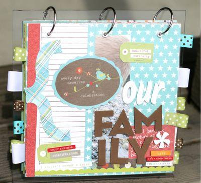 Lisas acrylic book