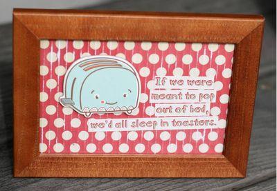 Toaster frame