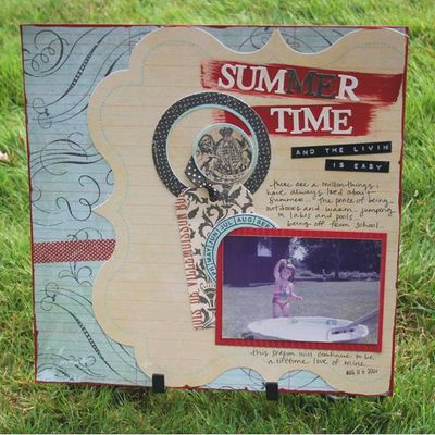 Patti summertime layout