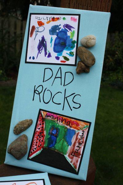 Dad rocks 2