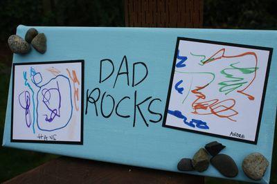 Dad rocks 1